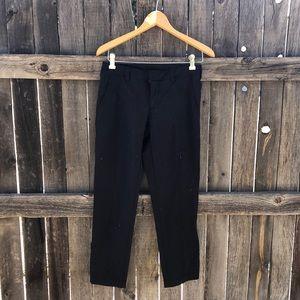 Black Athleta Ankle Pants